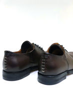 Picture of A.S.98 Italian Hand Made Lace-up Brown Shoes