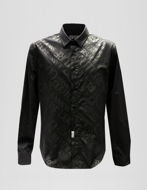 Picture of Versace Jeans Couture Black Logo Stretch Shirt