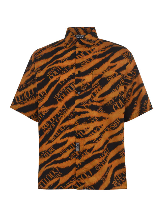 Picture of Versace Jeans Couture Tiger Shirt