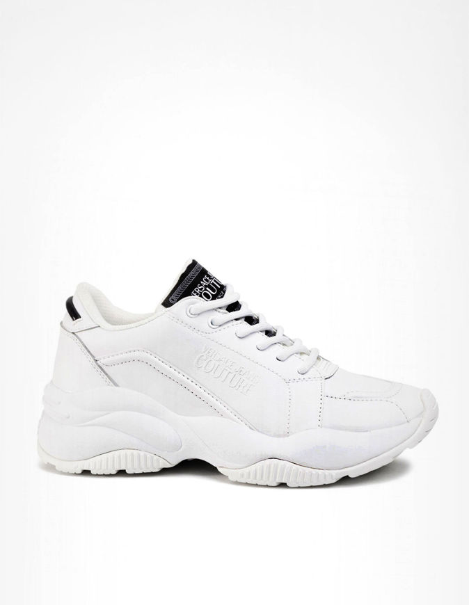 Picture of Versace White Extreme Logo Sneakers
