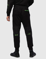 Picture of Diesel P-Ortex Black Sweat Pant