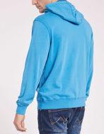 Picture of Gaudi Blue Zip-up Hoody Sweatshirt