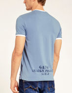 Picture of Gaudi V-Neck Teal S/S Tee