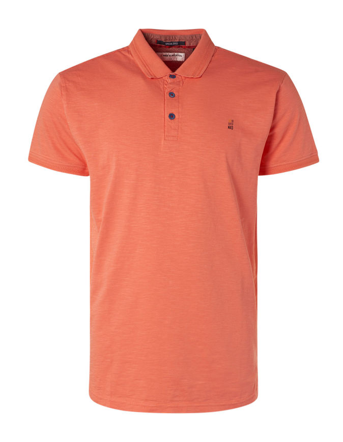 Picture of No Excess Peach Cold Dye Polo