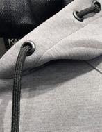 Picture of Karl Lagerfeld Neoprene Ikonik Hood Sweat Jacket