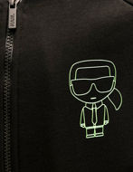 Picture of Karl Lagerfeld Ikonik Neon Sweat Jacket