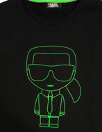 Picture of Karl Lagerfeld Ikonik Neon Logo Sweatshirt