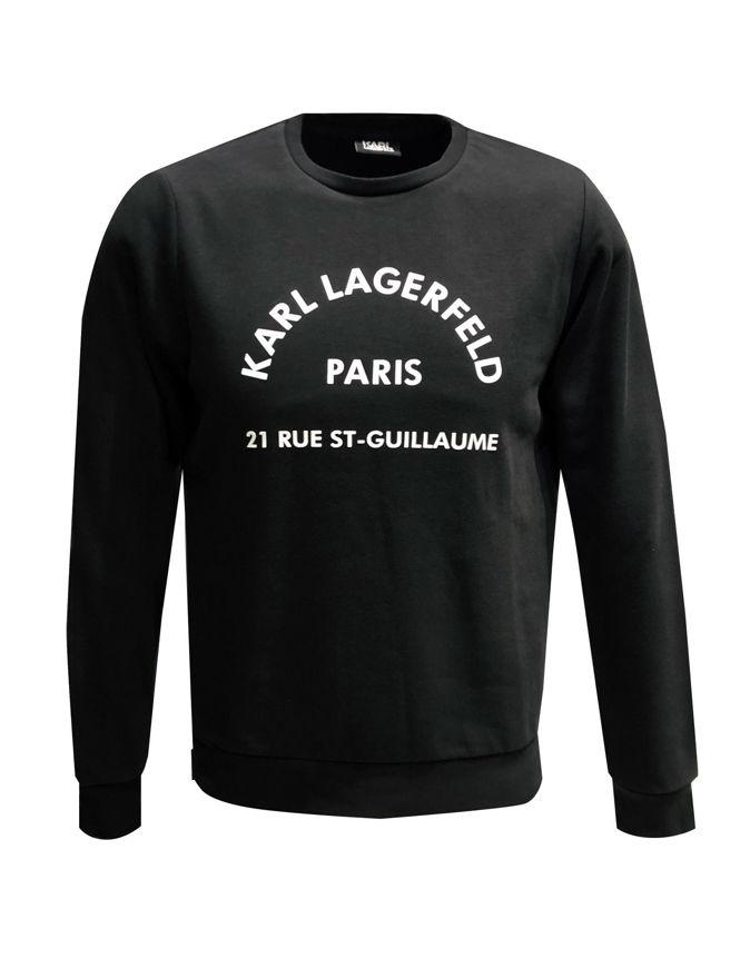Picture of Karl Lagerfeld Address Black Sweatshirt