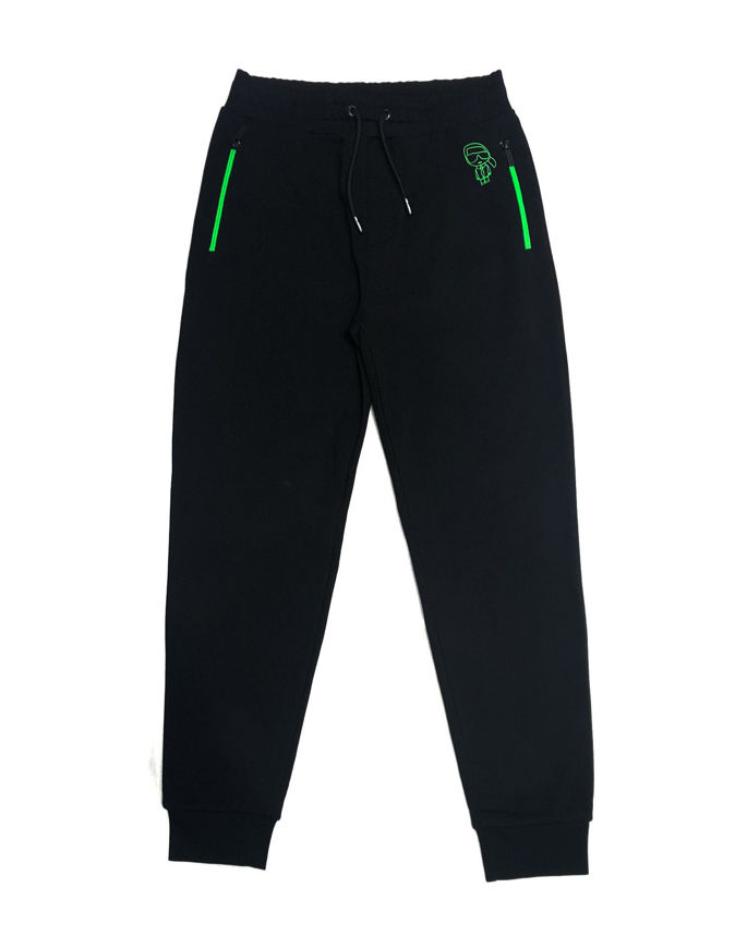 Picture of Karl Lagerfeld Ikonik Neon Sweatpant