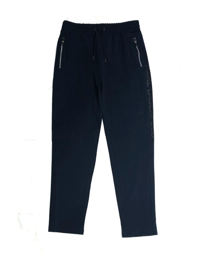 Picture of Karl Lagerfeld Logo Navy Zip Sweatpant
