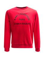 Picture of Karl Lagerfeld Address Red Sweatshirt