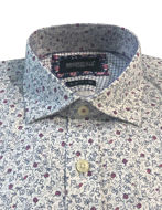 Picture of Brooksfield Pink Floral Print Luxe Shirt