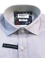Picture of Brooksfield Pink Dots Pattern Stretch Real Shirt