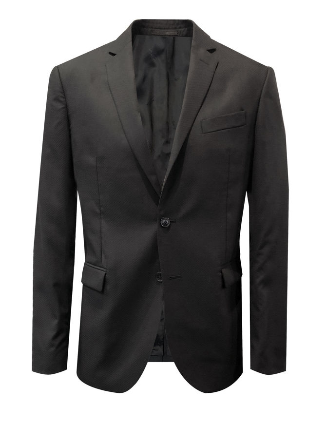 Picture of Versace Black Scale Trend Fit Suit