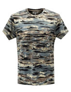 Picture of Pearly King Camo Print Turquoise Tee