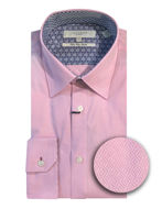 Picture of Ted Baker Sterling Pink Stretch Shirt