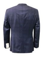 Picture of Studio Italia Slim Stretch Navy Window Check Suit