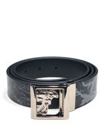 Picture of Versace Reversible Marble Pattern Belt