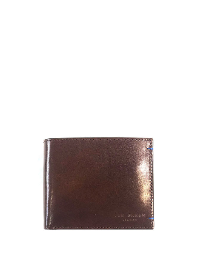 Picture of Ted Baker Leather Bifold Wallet