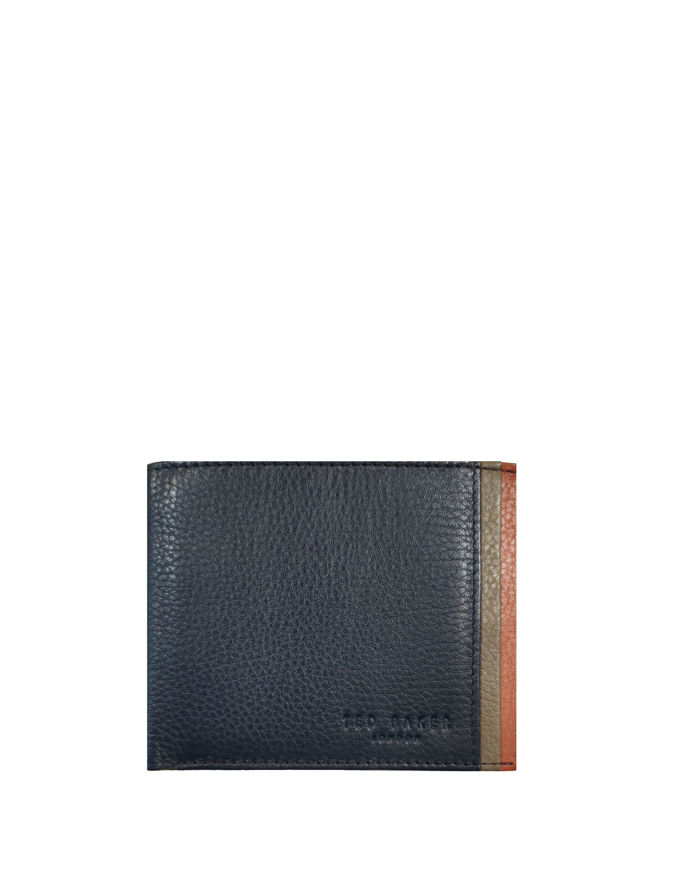 Picture of Ted Baker Leather Bifold Teal Wallet