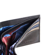Picture of Ted Baker Leather Bifold Black Wallet