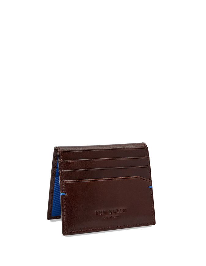 Picture of Ted Baker Leather Tan 2Fold Card Holder