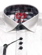 Picture of Au Noir Edwin Stretch White Shirt