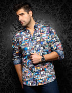 Picture of Au Noir Elmondo Multi Shirt