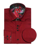 Picture of Au Noir Fabriano Red Shirt