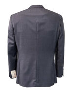 Picture of Studio Italia Slim Stretch Navy Grey Check Suit
