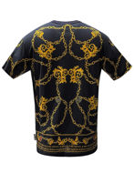 Picture of Versace Chains & Shield Print Reg Tee