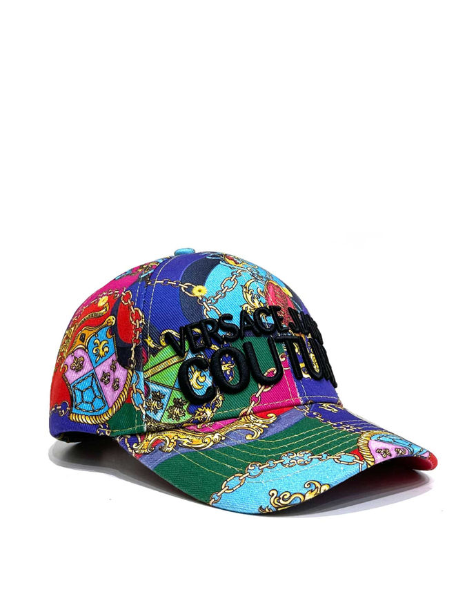 Picture of Versace Chains & Shield Multi Cap