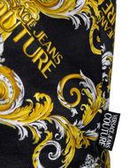 Picture of Versace Black & Gold Baroque Slim Tee