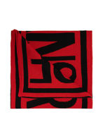 Picture of Versace Jeans Couture Black & Red Scarf