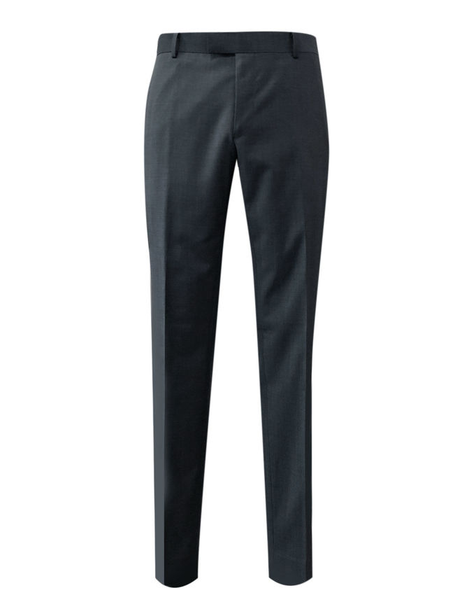 Picture of Gibson Charcoal Pure Wool Trouser