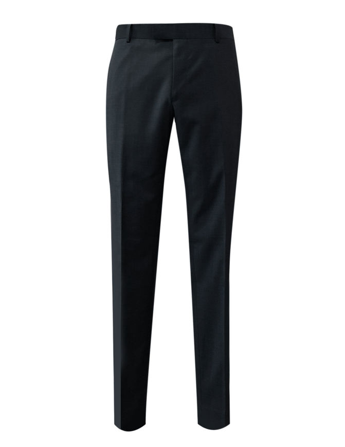 Picture of Gibson Black Pure Wool Trouser
