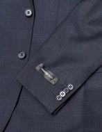 Picture of Studio Italia Slim Dark Navy Check Suit
