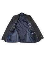 Picture of Studio Italia Slim Dark Charcoal Check Suit