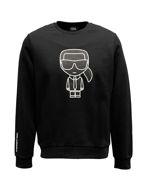 Picture of Karl Lagerfeld Ikonik Black Logo Sweatshirt
