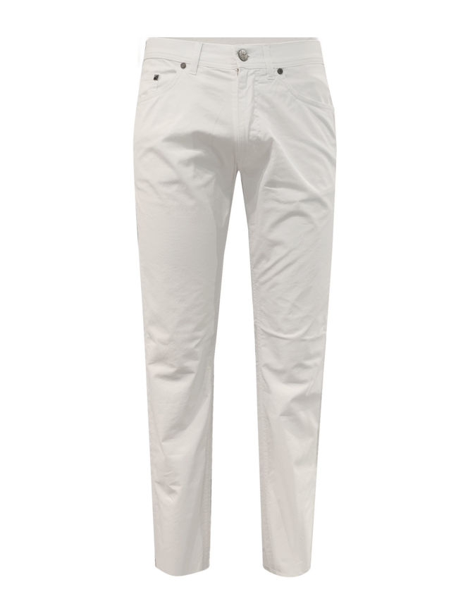 Picture of Karl Lagerfeld White Stretch Pant