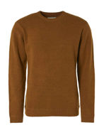 Picture of No Excess Mustard Slub Yarn Pullover Knit