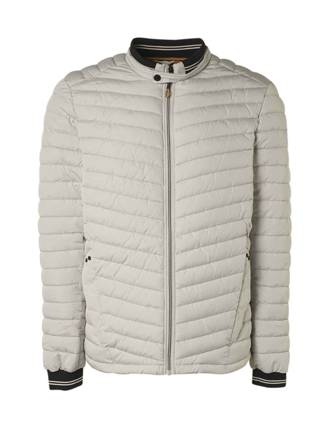 Picture of No Excess Chalk Puffer Short Jacket