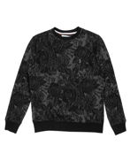 Picture of Pearly King Black Floral Weave Sweater