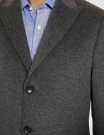 Picture of Studio Italia SB Wool & Cashmere Grey Overcoat