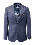 Picture of Ted Baker Blue Over Check London Suit