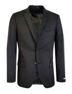 Picture of Karl Lagerfeld Navy Square Check Suit