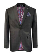 Picture of Ted Baker Brown Tartan Check Suit