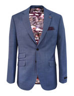 Picture of Ted Baker Textured Blue Suit