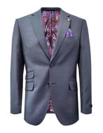 Picture of Ted Baker Blue Birdeye Suit
