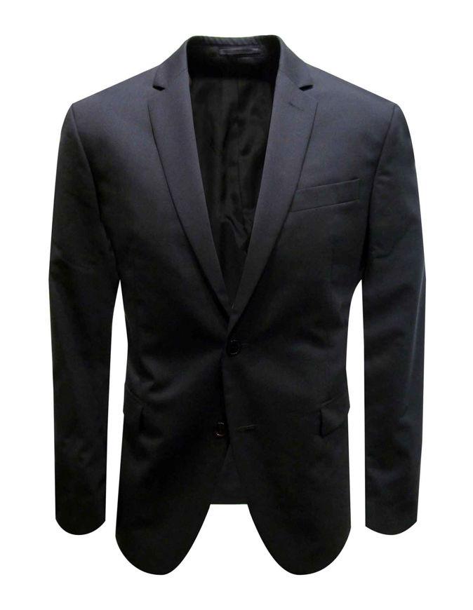 Picture of Versace Black Trend Fit Suit